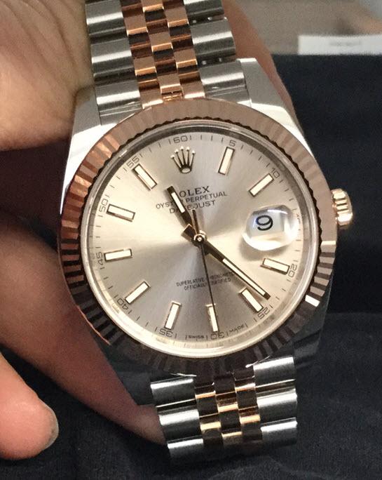 Fsot Rolex Datejust 41 2 Tone On Jubilee Bracelet Ref