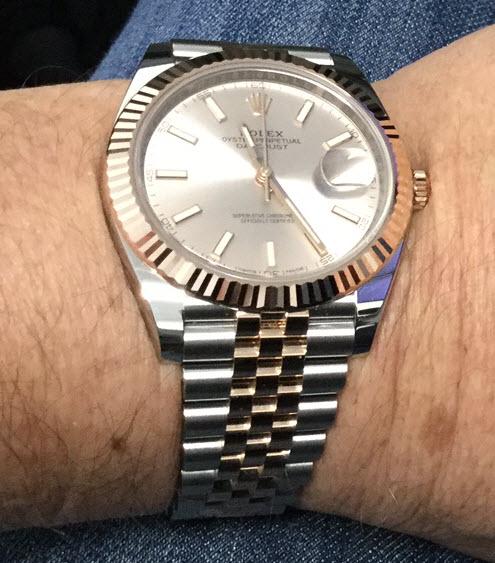 TimeZone  Rolex , Modern » Quick Look DJ41,2Tone (Steel